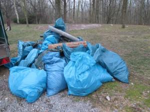 gesammelter Müll 2015